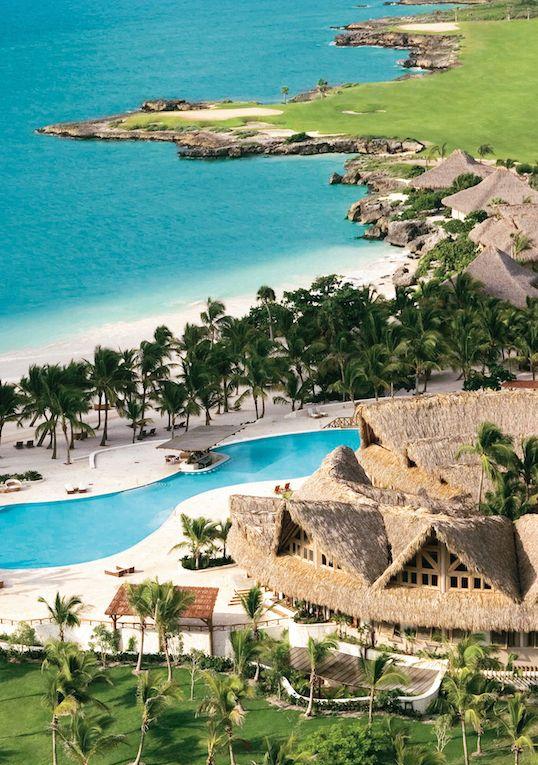 Private pools, gourmet restaurants and a sugar-white sand beach.