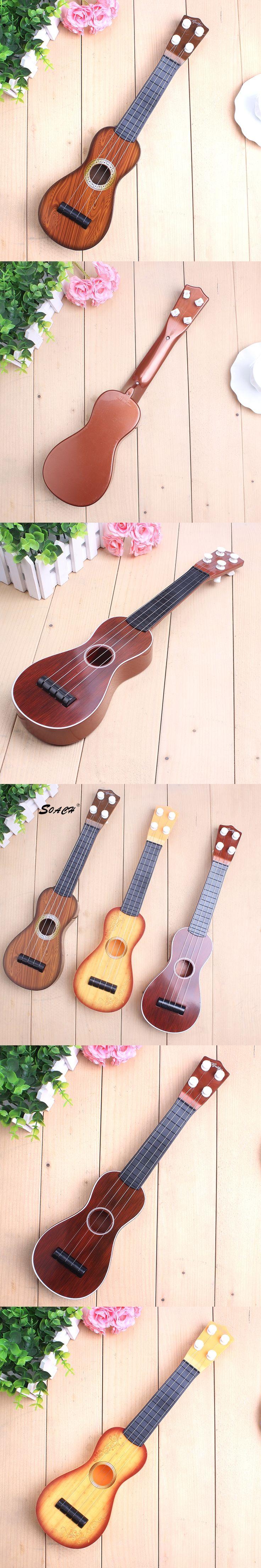 SOACH Children learn Ukulele Soprano Sapele 12 Ukulele Guitar Small Guitar Ukelele Strings Musical Instruments