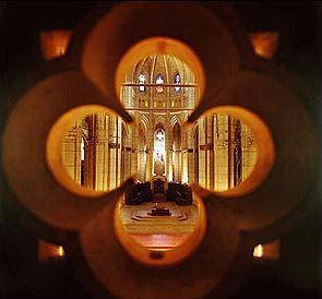 *** Interior de la Catedral de Santa María. Vitoria-Gasteiz.