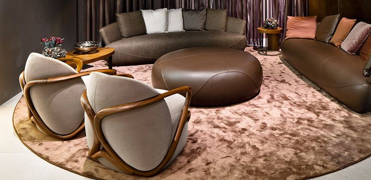 Giorgetti italian chairs for luxury hospitality and elegant design homes