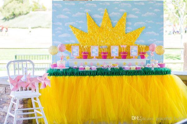 """Юбочка """"туту"""" для украшения стола - Декор для стола своими руками - Сервировка стола - Каталог статей - Устроим Праздник! Бесплатные шаблоны на день рождения"""