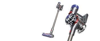 Dyson V8 Animal Cordless HEPA Vacuum Cleaner + Direct Drive Cleaner Head + Wand Set + Mini Motorized Tool + Dusting Brush + Docking Station + Combination Tool + Crevice Tool - ZonHunt