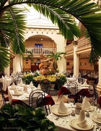 Columbia Restaurant - St. Augustine Florida Been there and it's gorgeous and great good!!//I totally agree, their food is delicious and their Sangria is the best! It's on St. Georges street, so after dinning you can shop the wonderful stores.