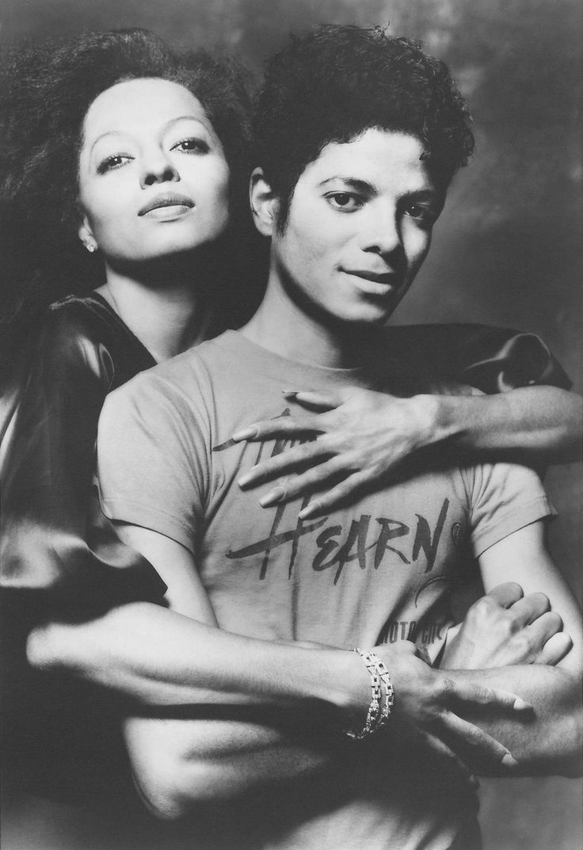 Diana Ross & Michael Jackson via Randy Taraborrelli @ https://www.facebook.com/j.randy.taraborrelli