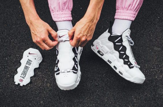 2e3ed7f11acf Look For The Nike Air More Money Coral Chalk Tomorrow The Nike Air More  Money is