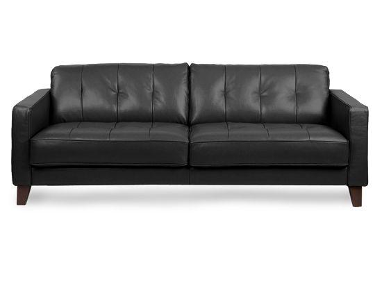 leather sofa black redecorating pinterest shops leather