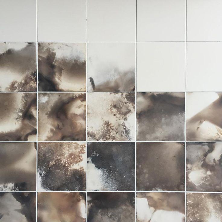 """Smoked tile. By @granbyworkshop"""