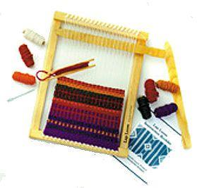 Finger Loom Potholder #diy craft for kids.