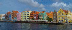 The Handelskade - Willemstad, Curacao (lncgriffin) Tags: willemstad curacao kingdomofthenetherlands dutchcaribbean handelskade architecture santaannabay dutch island caribbean queenemmabridge waterfront travel sony rx1r zeiss sonnar sonnar35mmf2