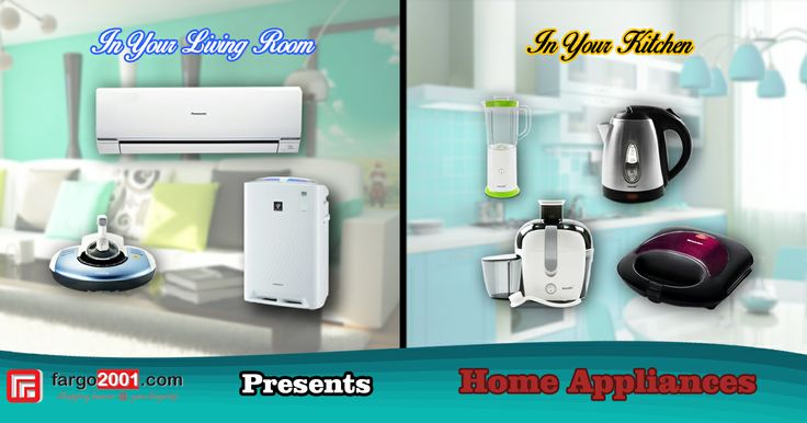 Fargo2001.com Presents Various Home Appliances for your Living Room and Kitchen! Let's Shop! http://fargo2001.com/housewares-315/home-appliances-104