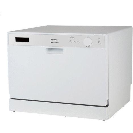 Lave-vaisselle pose libre DW 6WH/2, 6 Couverts, 55 cm, 55 dB, 6 Programmes