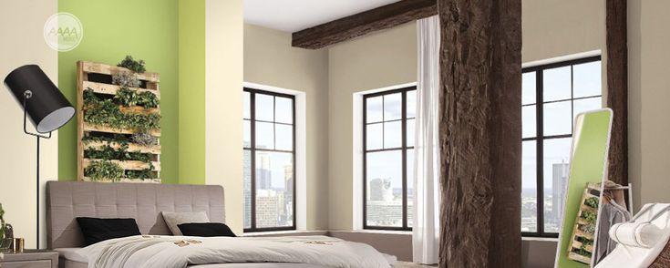 Nowoczesna sypialnia z łóżkiem kontynentalnym #lozkatapicerowane #stylowelozka #lozkaboxspring #lozka #lozko #lozkadosypialni #lozkomalzenskie #lozkakontynentalne