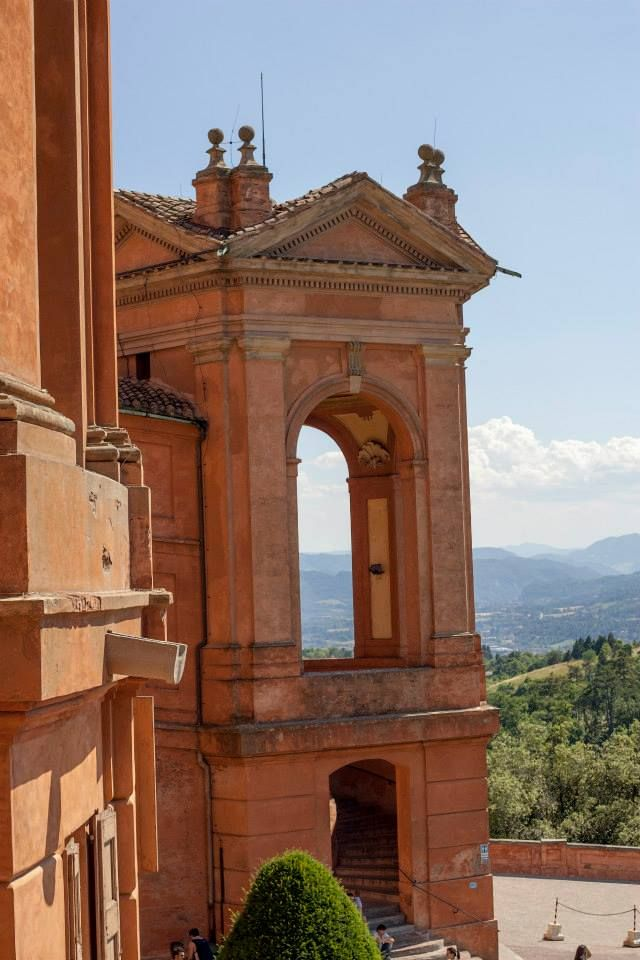 # Bologna Panorama from the Sanctuary of San Luca.  Photo: Jacopo Guasti