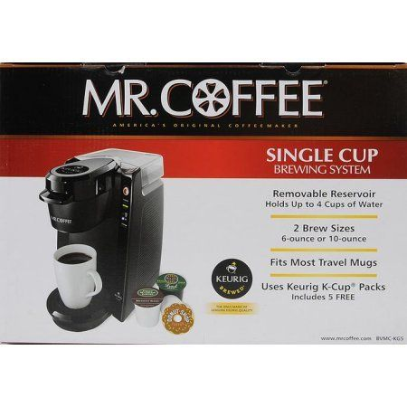 Mr Coffee 24oz Single Serve Coffee Maker BVMCKG5001  The MrCoffee Coffee Maker is powered by Keurig Brewed technology -- Check this awesome product by going to the link at the image.