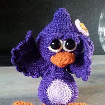 Amigurumi Monsters Tessa Van Riet : 17 Best images about DIY by Jenneke on Pinterest Flower ...