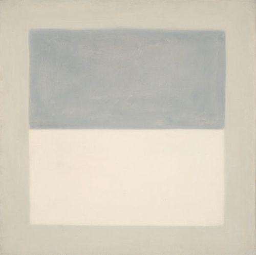 thegameofart: vjeranski: Agnes Martin, Rain (study), 1960 (Bradypus can has.)