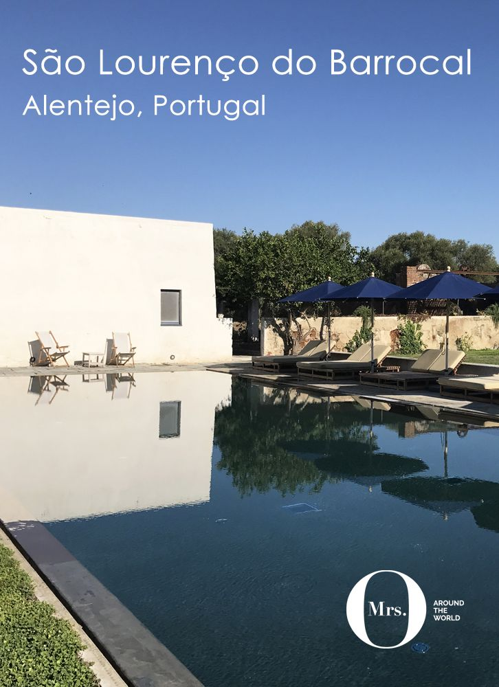 I was looking for ideas for where to stay on our annual summer trip to the south of Portugal, and there were few openings, so I asked those who know best: my readers. With 40+ individual recommendations from a post on my Facebook post, there was a clear candidate: São Lourenço do Barrocal in Alentejo, Portugal. The pool is one of the most instagrammed parts of the hotel - but it was tiny. So small we didn't go in, because there were twenty people there already! The lounge area, though, is…