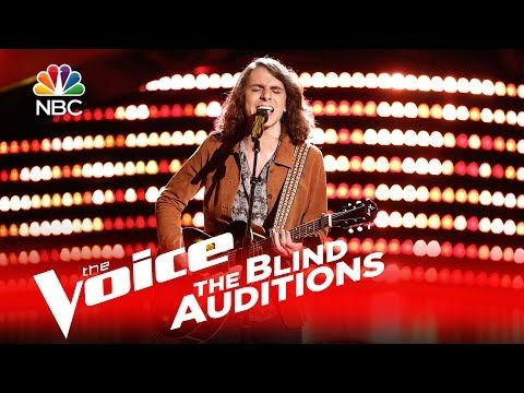 "Matt Tedder's slide guitar-accompanied blind audition of ""(I'm Your) Hoochie Coochie Man"" by Muddy Waters gets Adam to press the button. » Get The Voice Offi..."