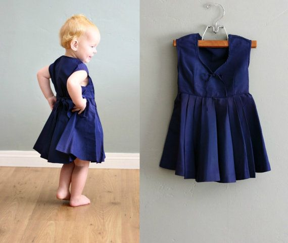 Vintage clothes for kids and adults.