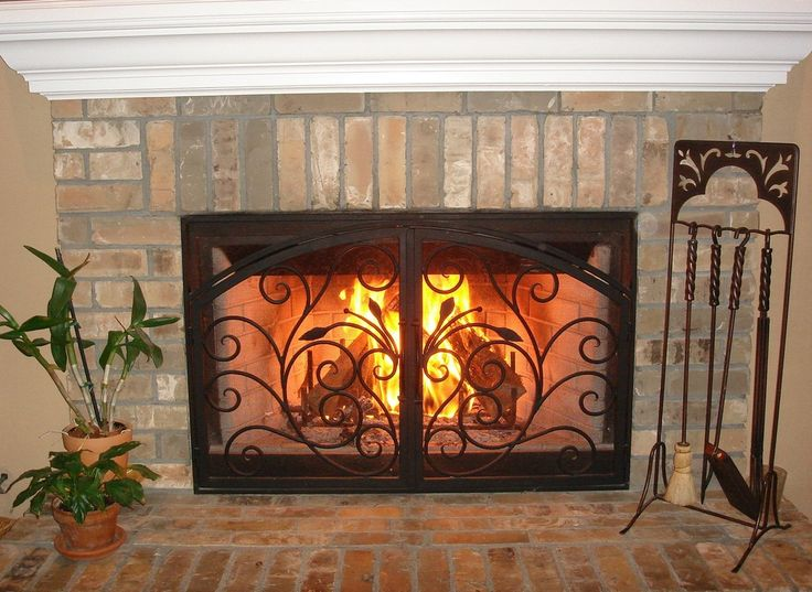 Arched Inside Rectangle Fireplace Doors San Diego Carlsbad Orange County La Jolla Our