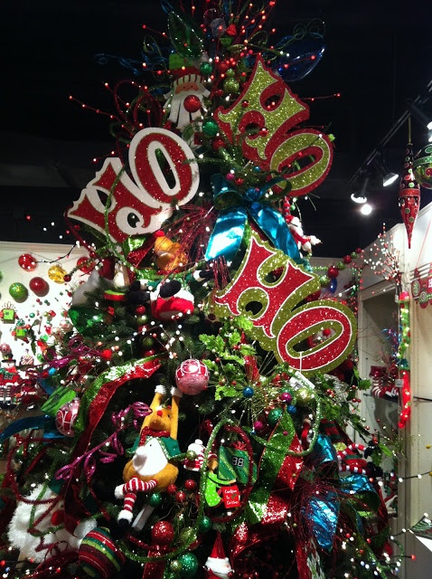 Ho ho ho close up christmas tree ideas pinterest for Fun decorations for christmas