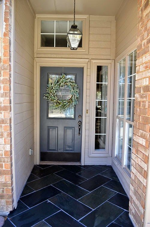 Stone Front Porch Designs