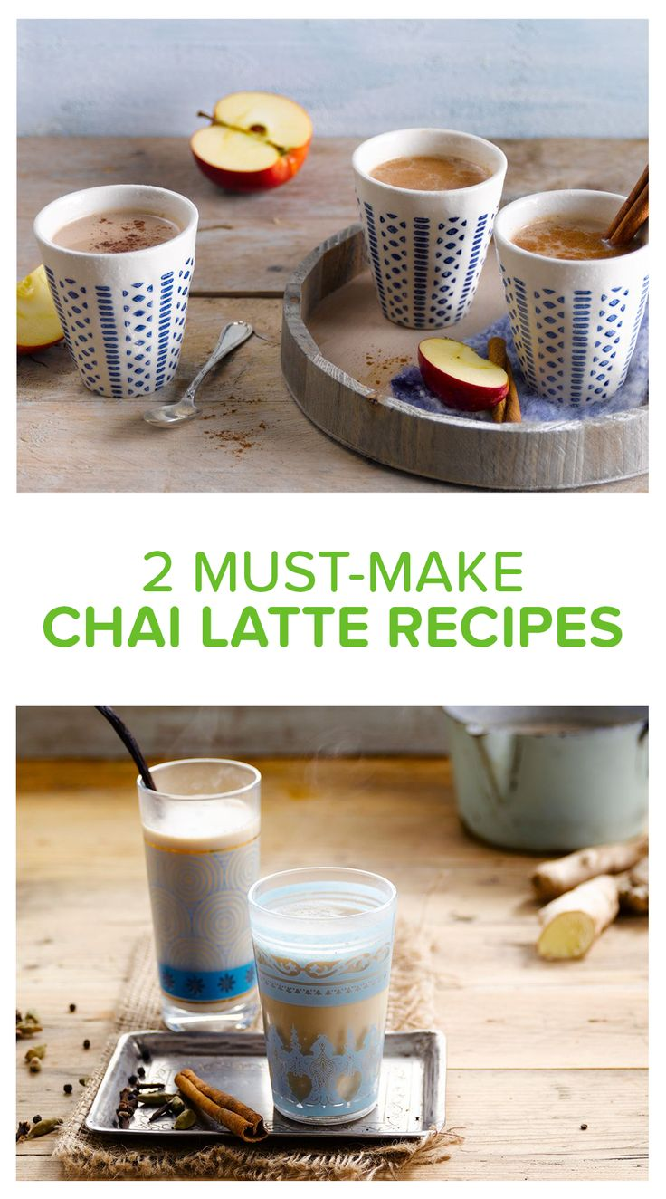 Homemade chai latte? We got you covered with 2 spicy recipes. Go for the original with heaps of spices and Alpro Soy Drink. Or funk it up with fresh ginger, cinnamon and Alpro Rice Drink. Drinks - Breakfast - Afternoon snack