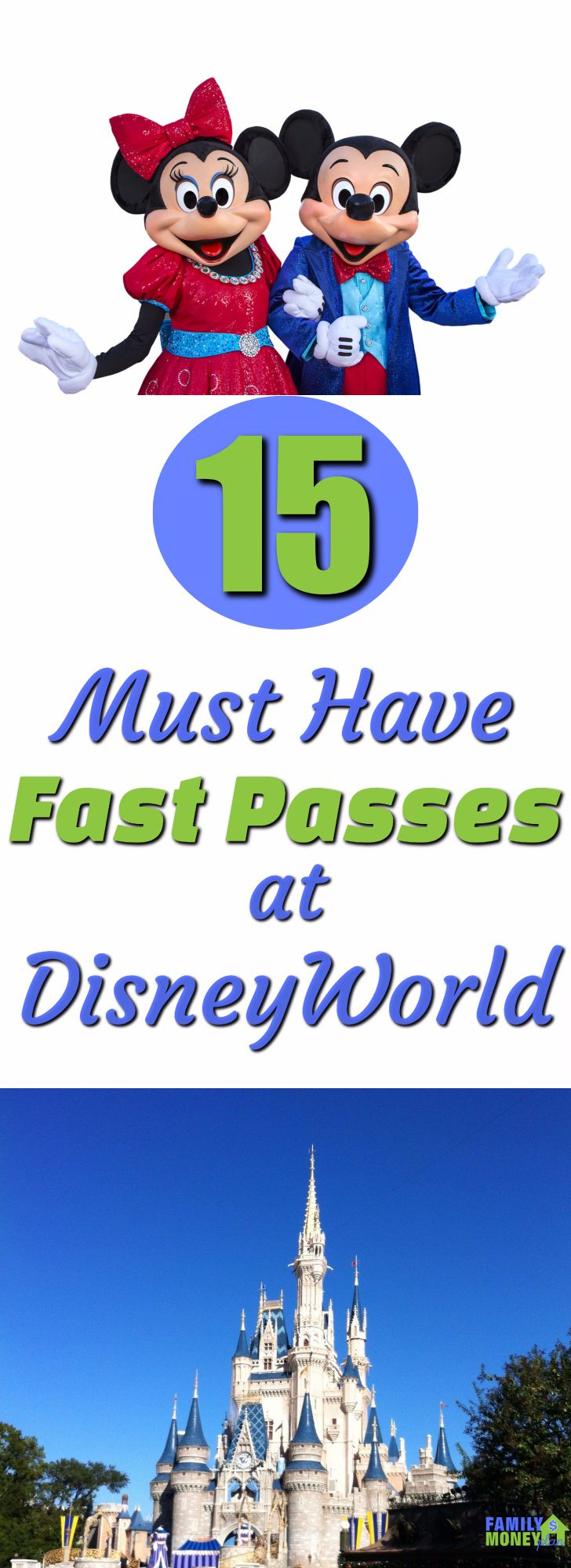Disney worlds fast pass system is a huge time saver. But you need to know which ones you should book before you get to the park. Here are the top 15 rides to book at Walt Disney World. | Disney World | Fast Pass | Magic Kingdom Rides | Epcot |Animal Kingdom | Hollywood Studios |