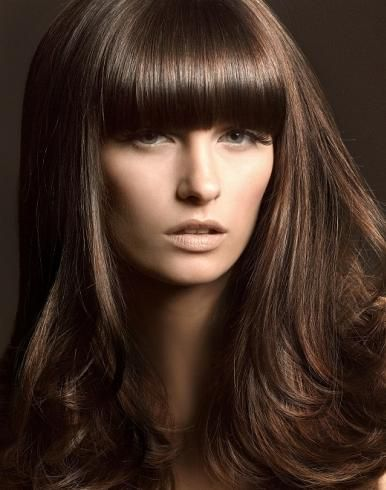 medium brown-love the color of this hair