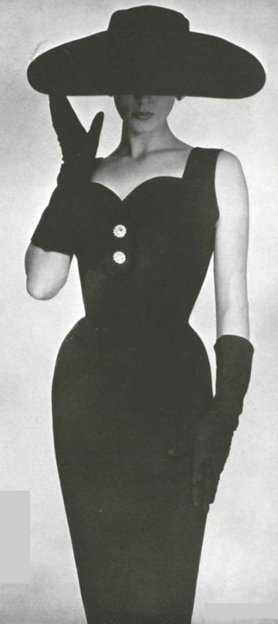 1954 I robe d'après - midi de Jeanne Lanvin (castillo) You Can Do It 2. http://www.zazzle.com/posters?rf=238594074174686702