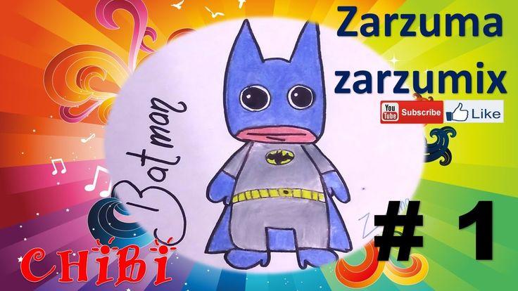 hola a todos les dejo mi nuevo video como dibujar a batman chibi 1 facil y rapido diy donde les explico como dibujar a batman chibi PASO A PASO
