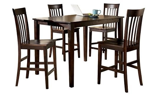 Ashley Hyland Pub Table 4 Barstools Home And Garden Pinterest Table And Chairs Home