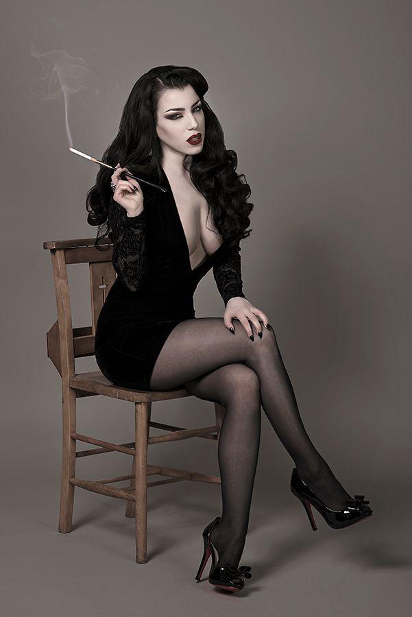 Model: Threnody In VelvetPhoto: Daniel Ackerley PhotographyDress by Motel…