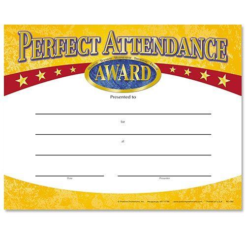 Ponad 25 najlepszych pomysłów na Pintereście na temat Attendance - free perfect attendance certificate template