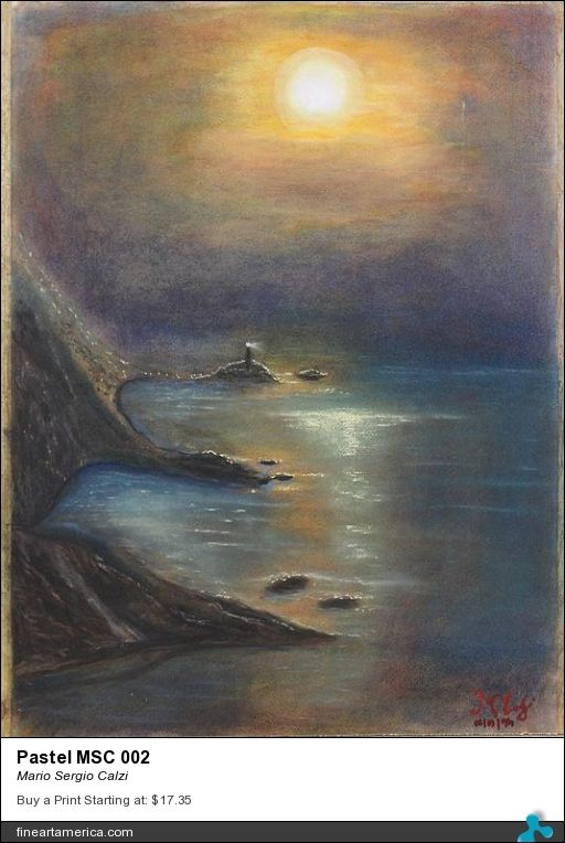 """Review for my painting """"Pastel MSC 002"""" by Rebecca Anne Dufresne."""