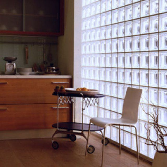 17 meilleures id es propos de carreaux en verre sur pinterest tuile carr - Cloison de verre interieure ...