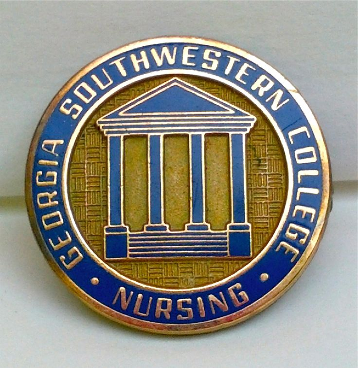 Share photos of your nursing school pins with us. This is my nursing school pin from Georgia Southwestern in Americus, Georgia. I treasure it it and remember my pinning ceremony after all these years.