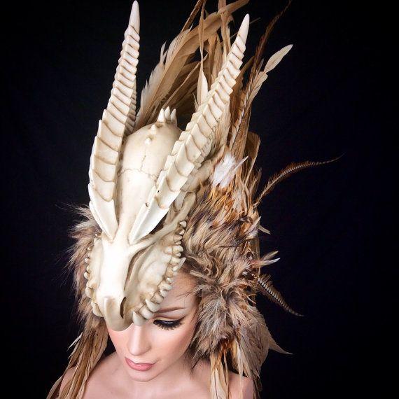 Cosplay de la Larp listo para nave Guerrero del dragón plumas