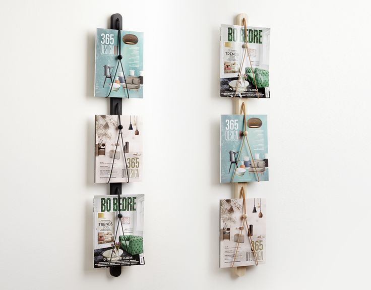 Baam magazin rack does not only organize your magazines but are also great wall decoration in your living room.