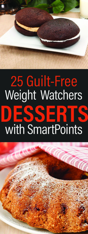 25 Guilt-Free Weight Watchers Dessert Recipes with Smart Points
