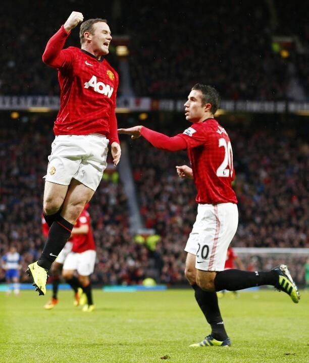 Robin van Persie  Wayne Rooney