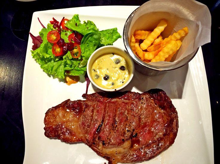 Rib Eye Steak #BakerzIn #PlazaSenayan #Jakarta #RelaxTime
