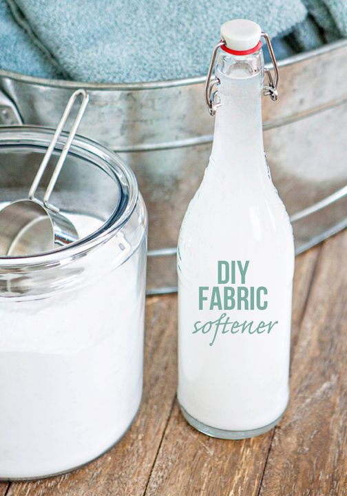Get started on that spring-cleaning with this simple DIY Fabric Softener. This homemade household hero functions as a softener, deodorizer, and degreaser, so you can multitask without having to switch between bottles!