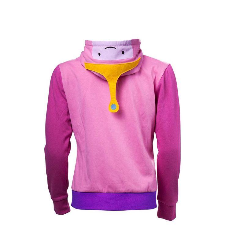 Adventure Time - Princess Bubblegum Cosplay dames hoody vest met capu