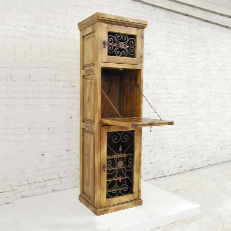 Shop Artesano Iron Works  FWCA0001 Mediterranean Style Wine Cabinet at ATG Stores. Browse our wine racks, all with free shipping and best price guaranteed.