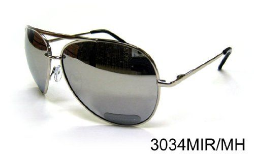 Hot Summer Sunglasses - Top Gun Aviation Style Mirror Reflection with Metal Frame (TOP3034). ***Free Shipping for Limited Time Only***Super Saving compares to Retail Stores. Excellent and Useful Gift - Everyone needs a Sunglasses even Adults and Kids to Protect their Eyes and Stay Stylish. This Sunglasses is Certificated with 100% UV Protection. Free S&H Sunglasses - Top Gun Pilot Aviation Mirror Reflection with Metal Frame (TOP3034). Excellent Christmas and Birthday Gift to Your Love One.