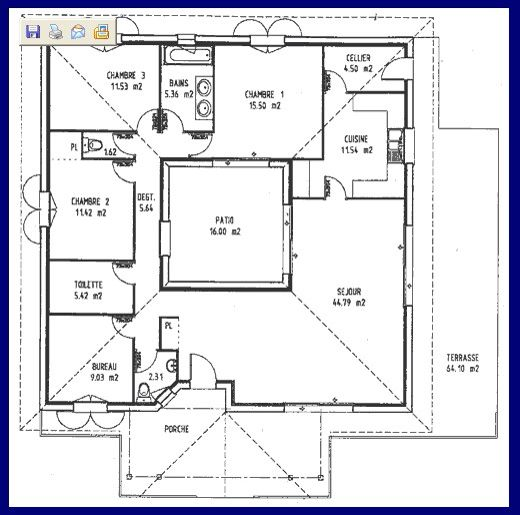 178 best images about architecture illustration models for Patio home floor plans