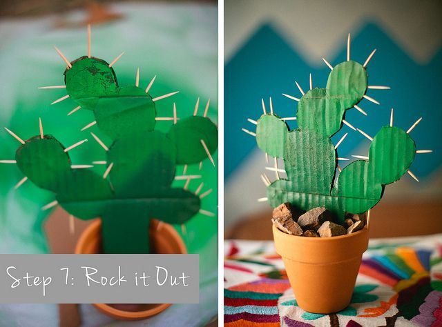 DIY Cactus via- Meg Ruth