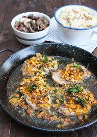 porc croute de butternut noisettes