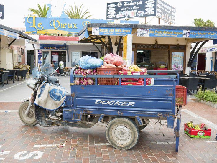 schnell vor Ort (Strand Agadir)